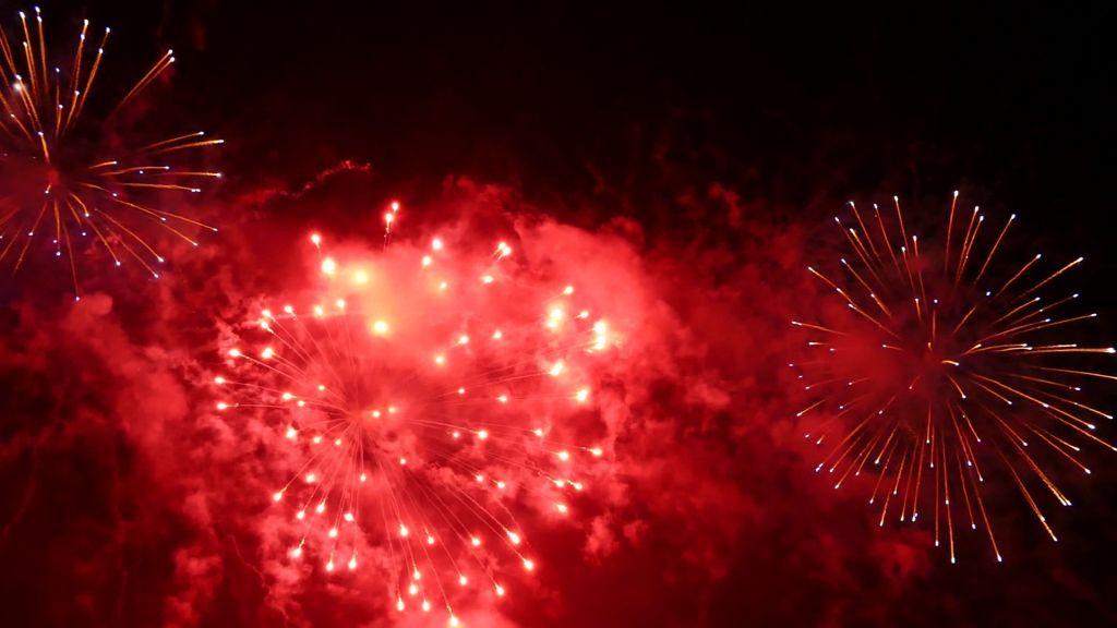 Schlössernacht Feuerwerk