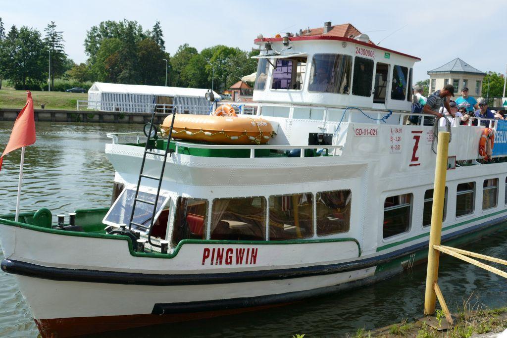 Schifffahrt Oberländischer Kanal