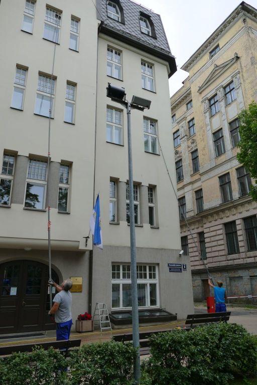 Fensterputzer in Riga