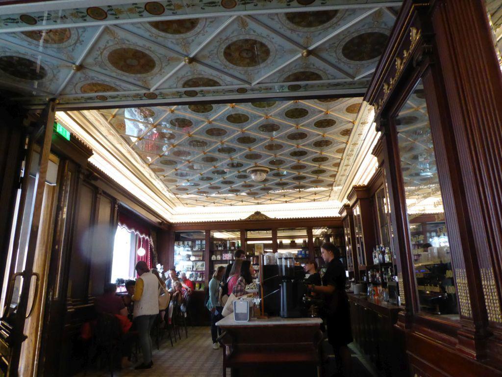 Decke im ältesten Kaffeehaus