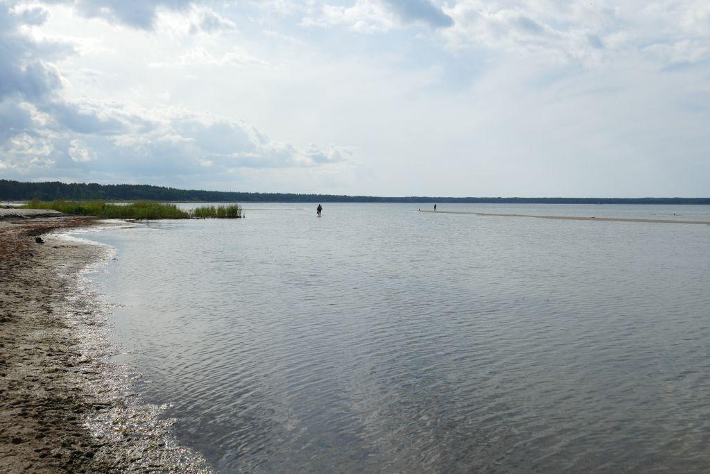Unser letzter Badestrand an der Ostsee