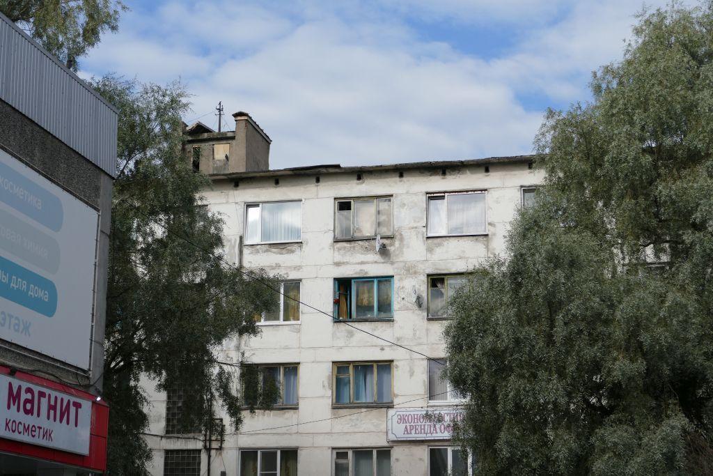 Pudozh Wohnhaus