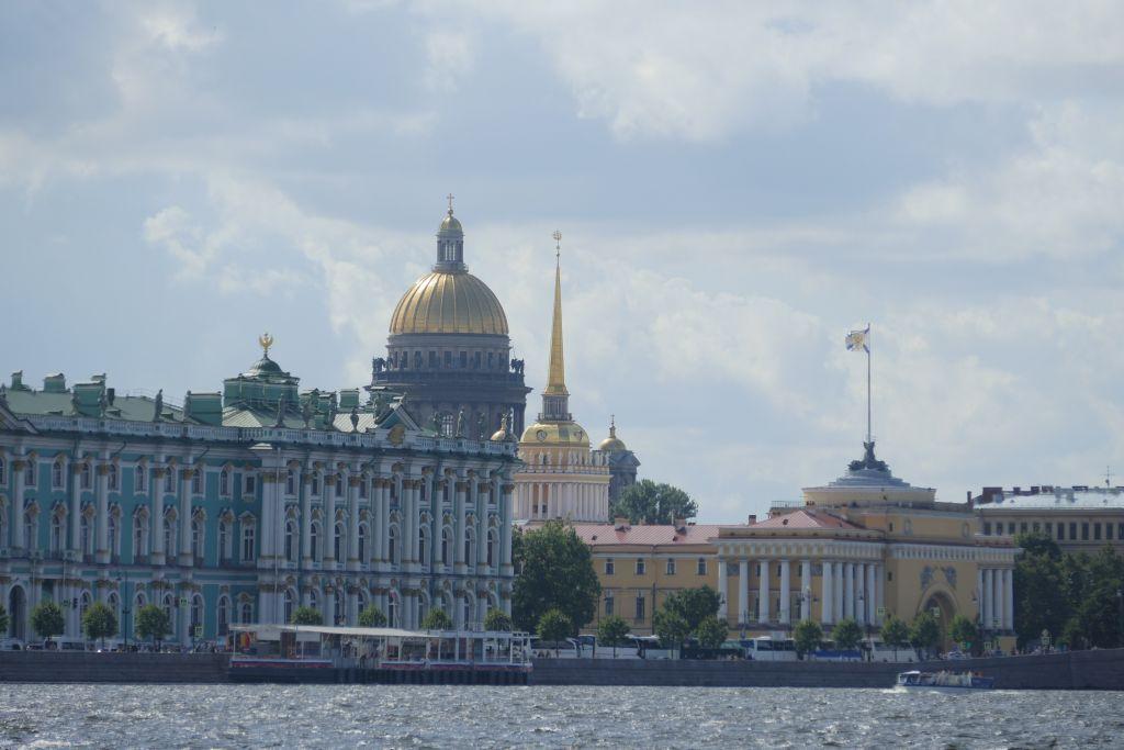 Stadtansicht an der Neva