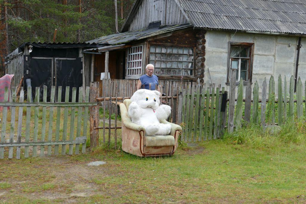 Inga das bewohnte Dorf mit dem weissen Bären