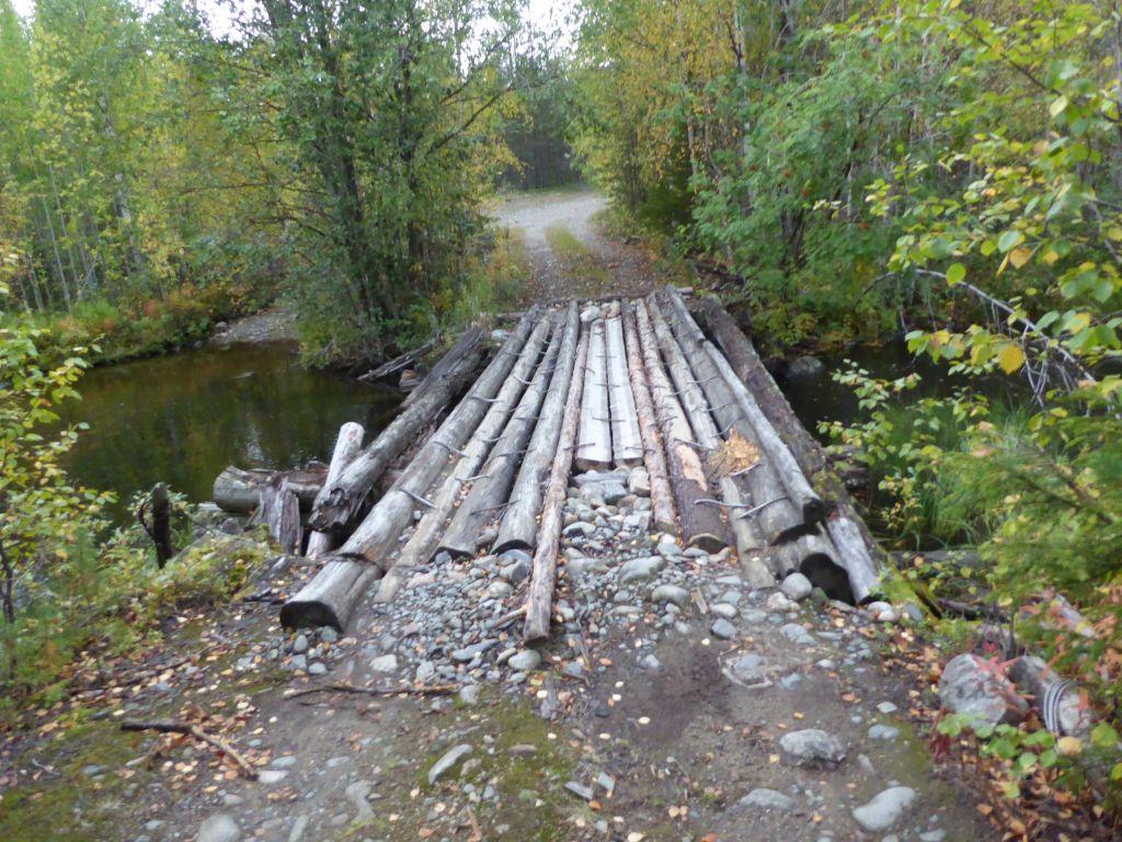 Brücke nicht befahrbar
