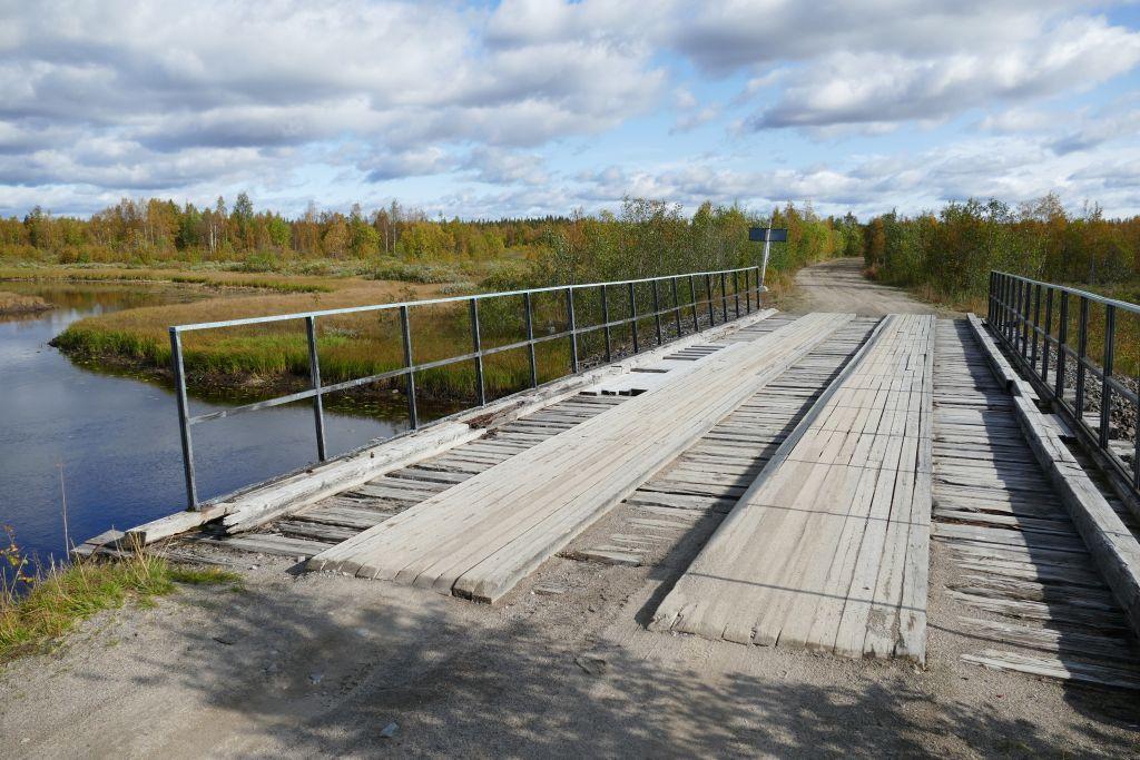 gute Brücke über Fluss Puma