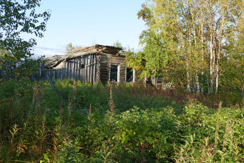 Ruine im Geisterdorf